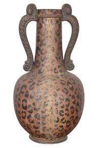 Leopard Print Vase