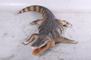 Lifesize American Alligator 94.75 Inch Long