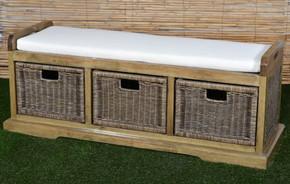 Livingston Storage Bench