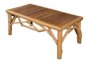 Teak Lodge Coffee Table