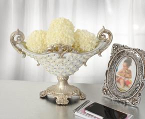 Silver Pearl Vase