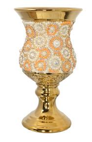 Radiant Pearl Vase