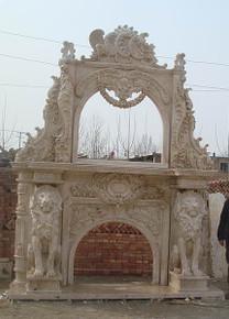 Travertine Double Arch