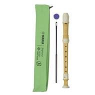 Yamaha YRS 402B Baroque Fingering C Soprano recorder ECODEAR