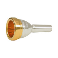 Yamaha Signature Series Doug Yeo Bass Trombone Mouthpiece - Gold Rim