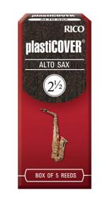 Rico Plasticover Alto Sax Reeds, Strength 2.5, 5-pack
