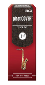 Rico Plasticover Tenor Sax Reeds, Strength 1.5, 5-pack