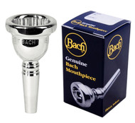 Bach 5GS Silver Plated Large Shank Trombone Mouthpiece 3415GS