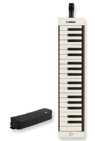 Yamaha P37EBK 37 Keys Black Pianica For Mature Players With Soft Case