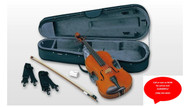 "Yamaha Braviol Student Viola Outfit 16.5"" Case and Bow AVA5-165S"