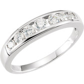 3/8 CTW Diamond 7 Stone Anniversary Band - W60218