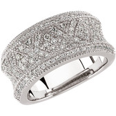 3/4 CTW Diamond Anniversary Band - W63965