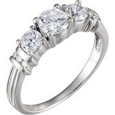 1 1/6 CTW Diamond Anniversary Band - W64143