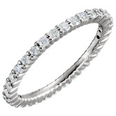 1/2 CTW Diamond Eternity Band  - W65459