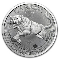 2016 1 Oz Canadian Cougar Reverse