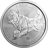 2018 1 Oz Silver Canadian Wolf Reverse