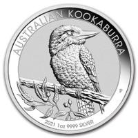 2021 Silver 1 Oz Kookaburra.
