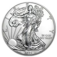 The 2021 American Silver Eagle 1 Oz