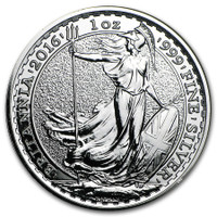 1 Oz Silver British Britannia