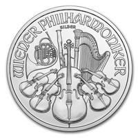 1 Oz Silver Austrian Philharmonic Reverse