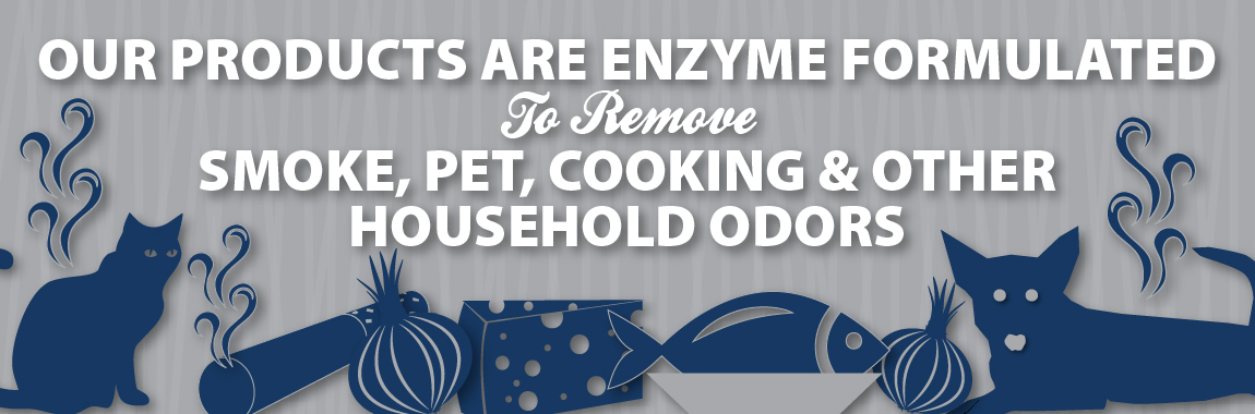 Enzyme Formulated to Remove Odors