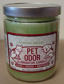 Bamboo Breeze Pet Odor Eliminator Candle