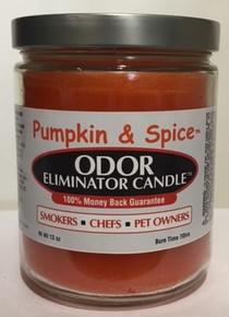 Pumpkin & Spice Odor Eliminator Candle