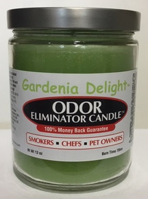 Gardenia Delight Odor Eliminator Candle