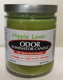 Hippie Love Odor Eliminator Candle-OFF Color