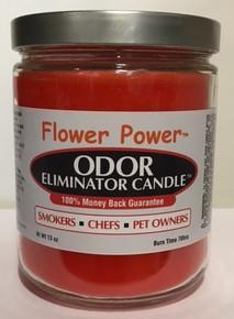 Flower Power Odor Eliminator Candle