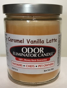 Caramel Vanilla Latte Odor Eliminator Candle