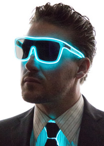 Tron Inspired Light Up Glasses