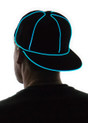 Aqua Light Up Snapback Baseball Hat