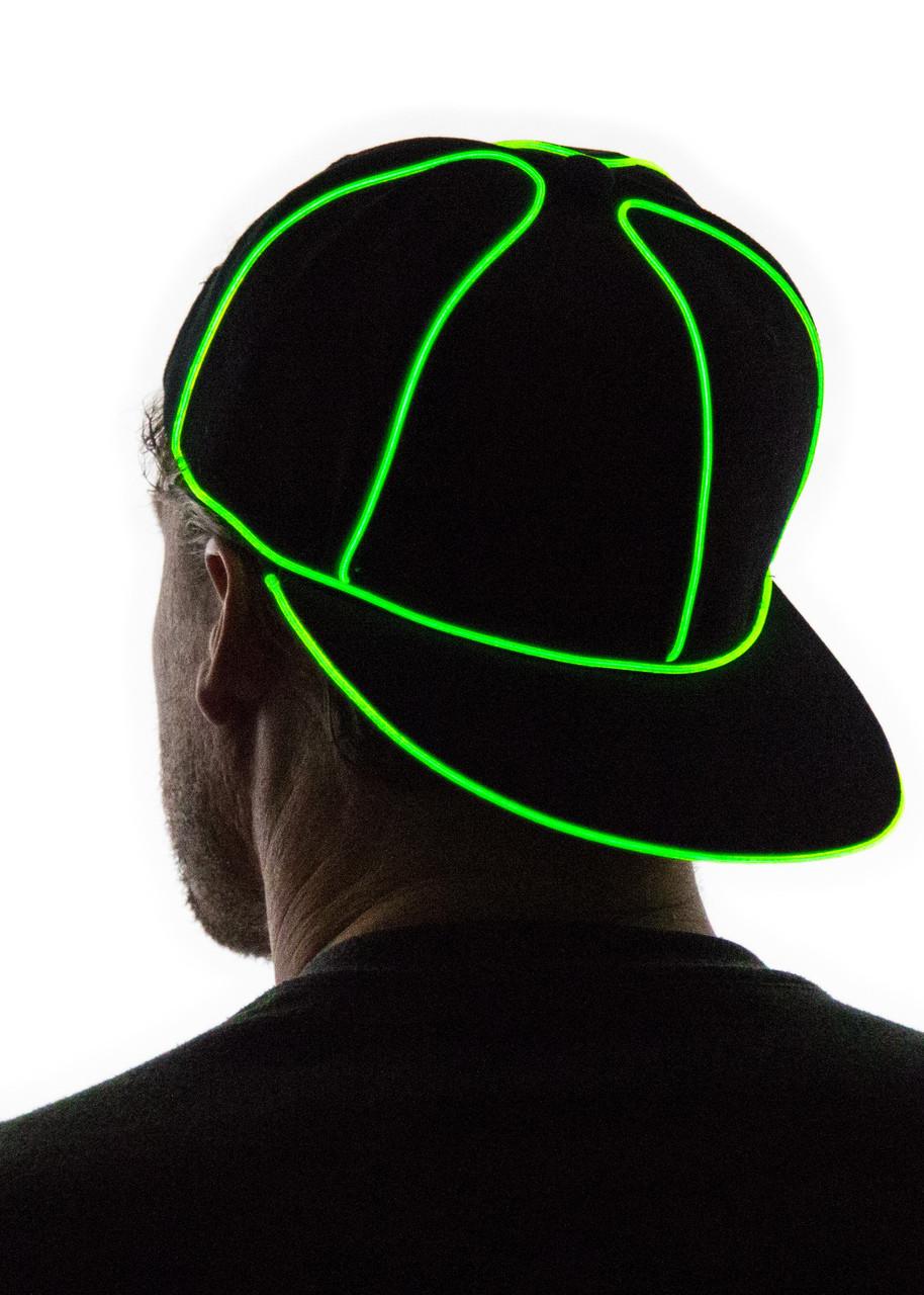 2be8b2f5dcfcd ... Light Up Snapback Hat. Loading zoom