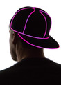 Pink Light Up Snapback Baseball Hat