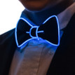 Blue light up bowtie for kids