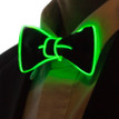 Green light up bowtie for kids
