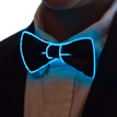 Aqua light up bowtie for kids