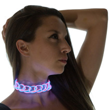 Light Up Choker Necklace