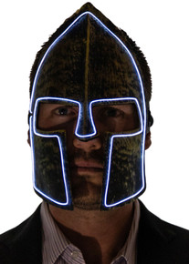 Light up Warrior Mask