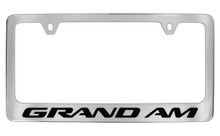 Pontiac Grand Am Block Letters License Plate Frame