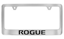 Nissan Rogue Official Chrome License Plate Frame Tag Holder
