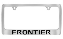 Nissan Frontier Official Chrome License Plate Frame Tag Holder