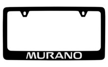 Nissan Murano Official Black License Plate Frame Tag Holder