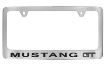 Ford Mustang GT Chrome Plated Solid Brass License Plate Frame
