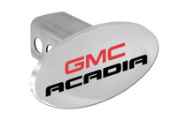 GMC Acadia Oval Trailer Hitch Cover Plug
