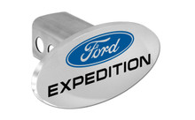 Ford Expedition With Logo Oval Trailer Hitch Cover Plug