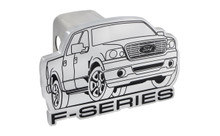 Ford F-Series Cutout Trailer Hitch Cover Plug