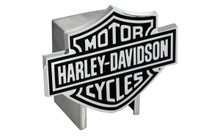 Harley-Davidson® Hitch Cover Black Harley-Davidson® Bar & Shield Logo Emblem Plus Hitch Ball Post Components (HDHCB14)