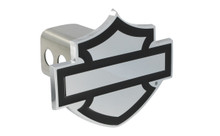 Harley-Davidson® Trailer Hitch Cover Plug Bar & Sheild Emblem